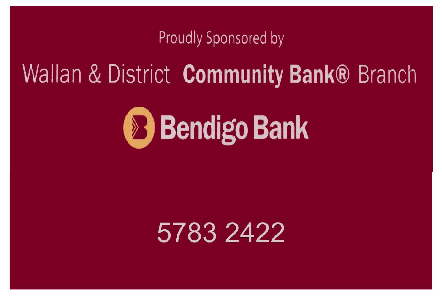 WALLAN & DISTRICT COMMUNITY BANK - BENDIGO BANK